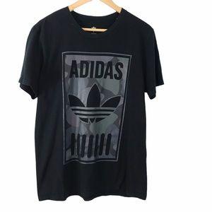 Adidas Men's Trefoil Camo Graphic Tee Japanese